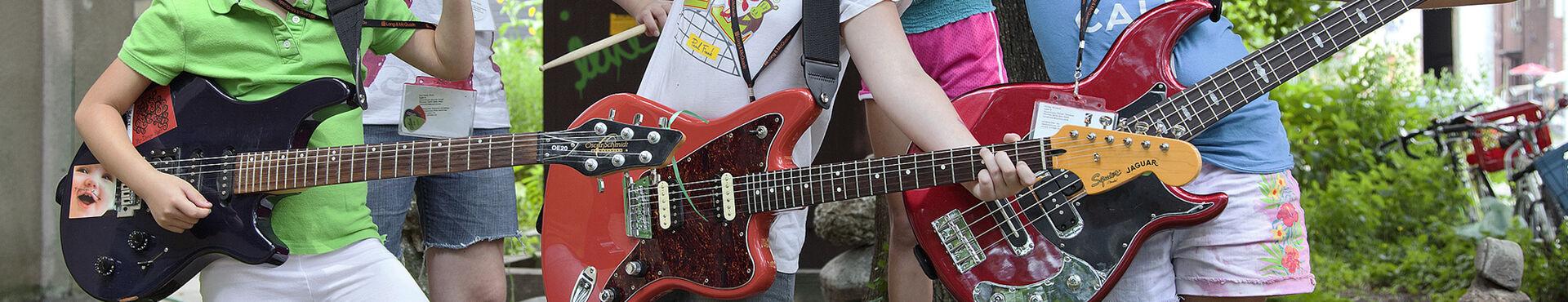 Banner - Girls Rock Camp Toronto