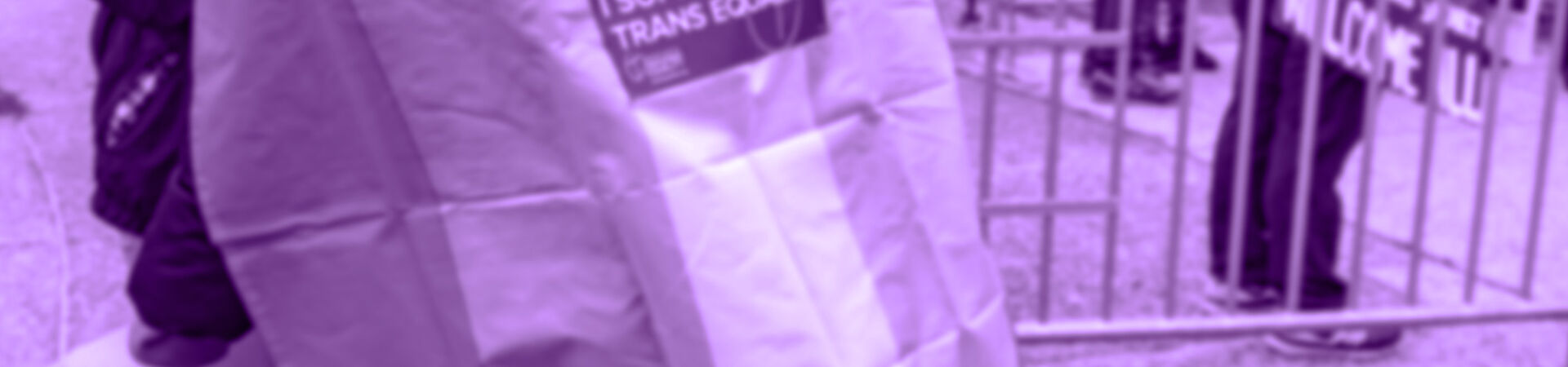 Banner - Joining the Movement for Trans Rights