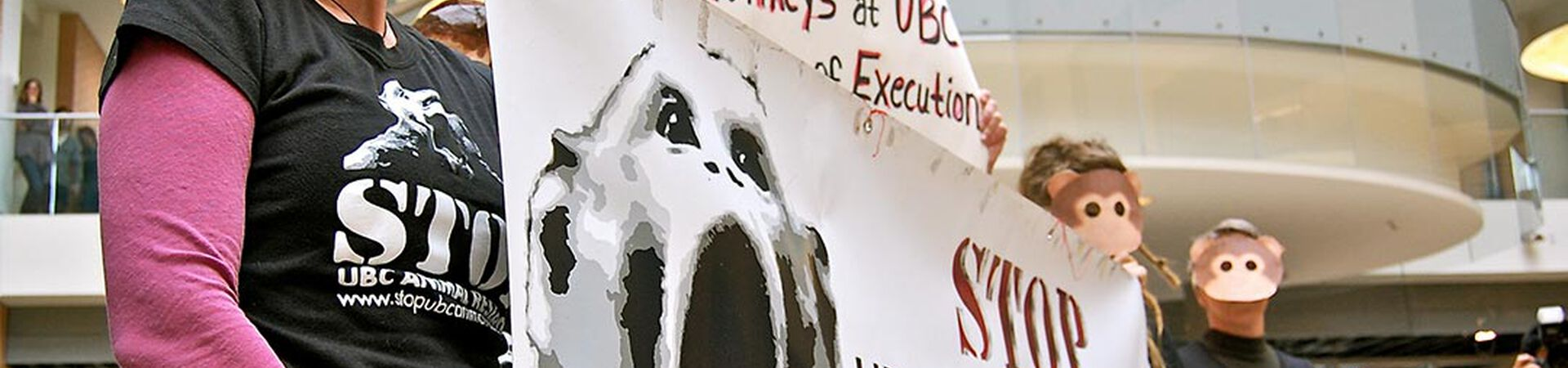 Banner - Animal Defence and Anti vivisection