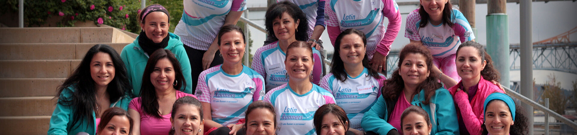 Banner - Bonding Active Communities Society (Latin Runners)