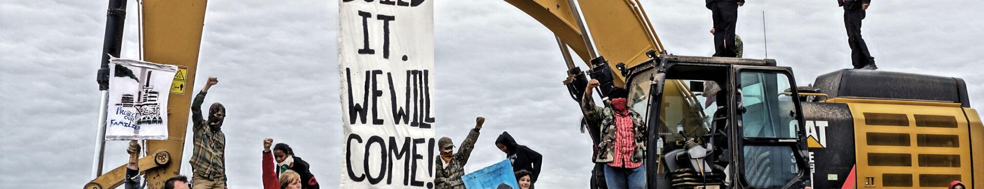 Banner - Peaceful Uprising