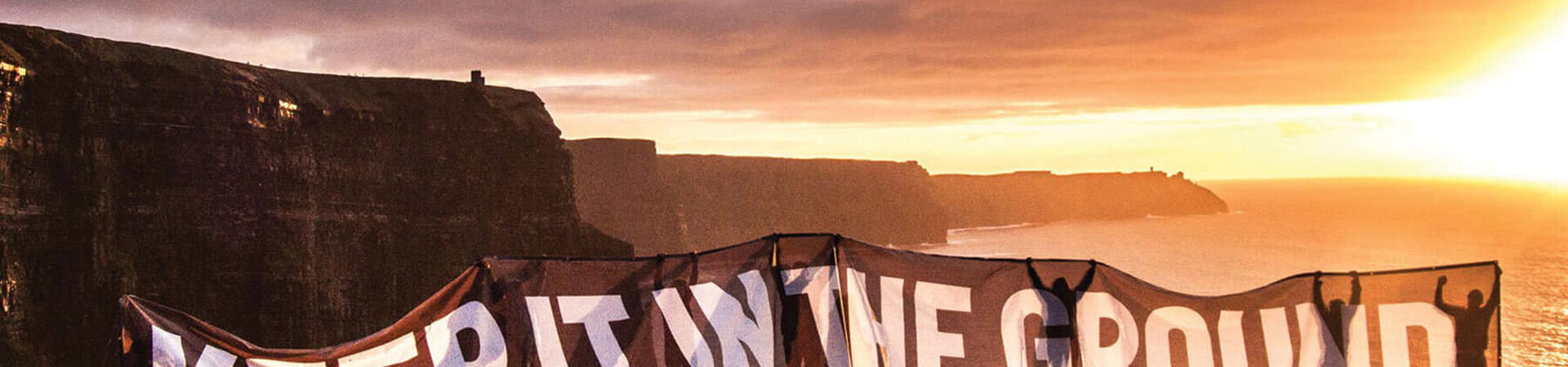 Banner - Keep Fossil Fuels in the Ground