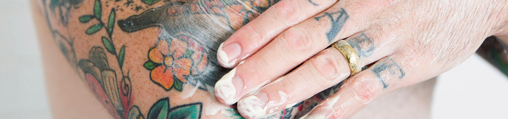 Banner - 4 Top Tattoo Care Tips