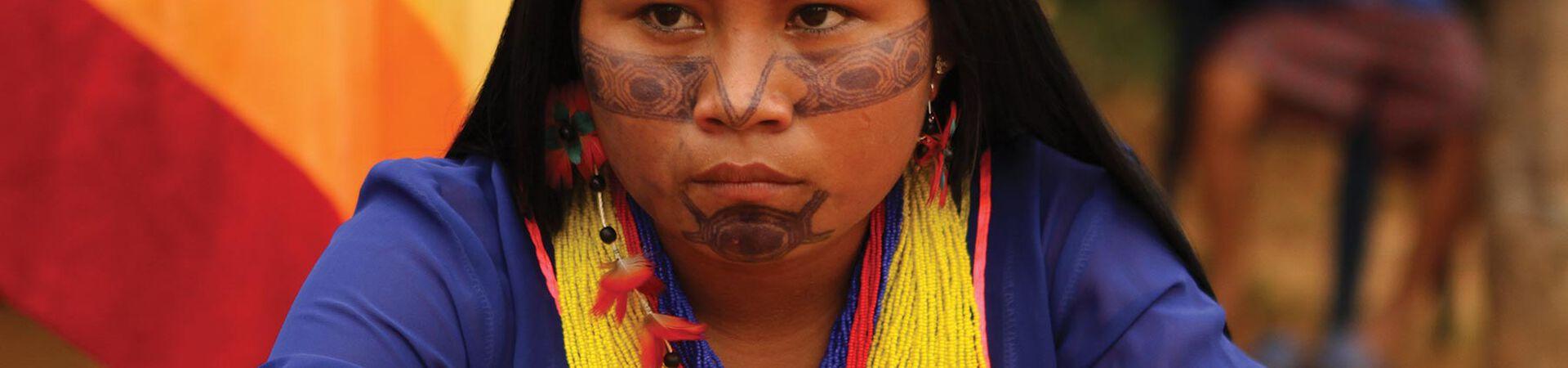 Banner - Pueblo Originario Kichwa de Sarayaku