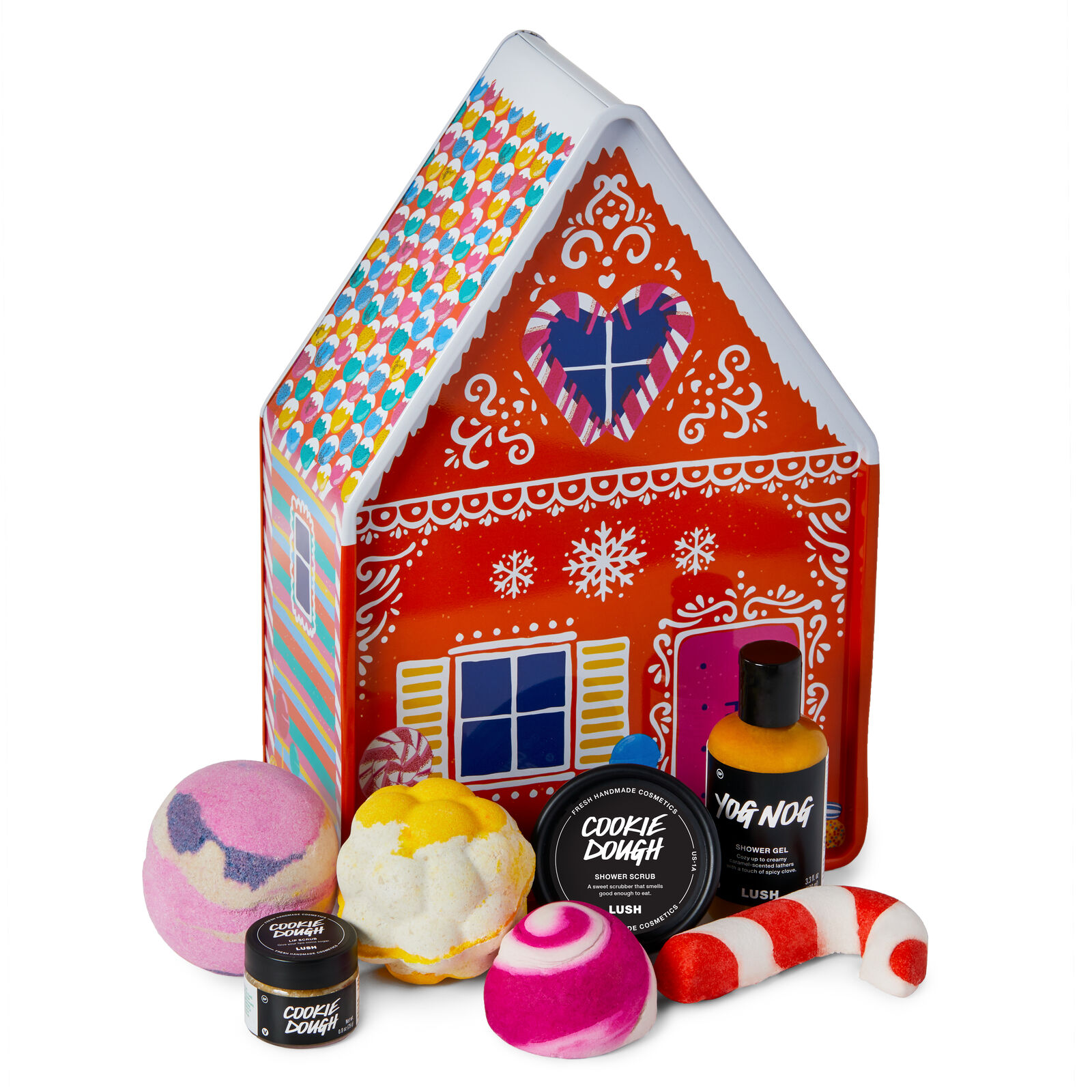 Gingerbread House -Lush Christmas products