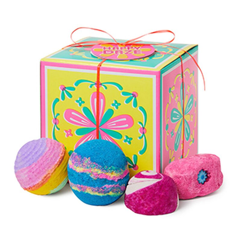 vegan bubble bath bomb gift set