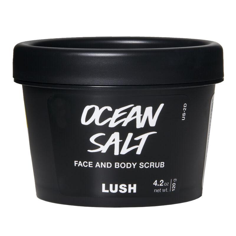 Ocean Salt Face And Body Scrubs Lush Cosmetics