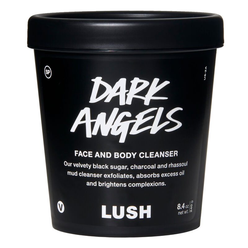 Dark Angels | Face And Body Cleansers | Lush Cosmetics