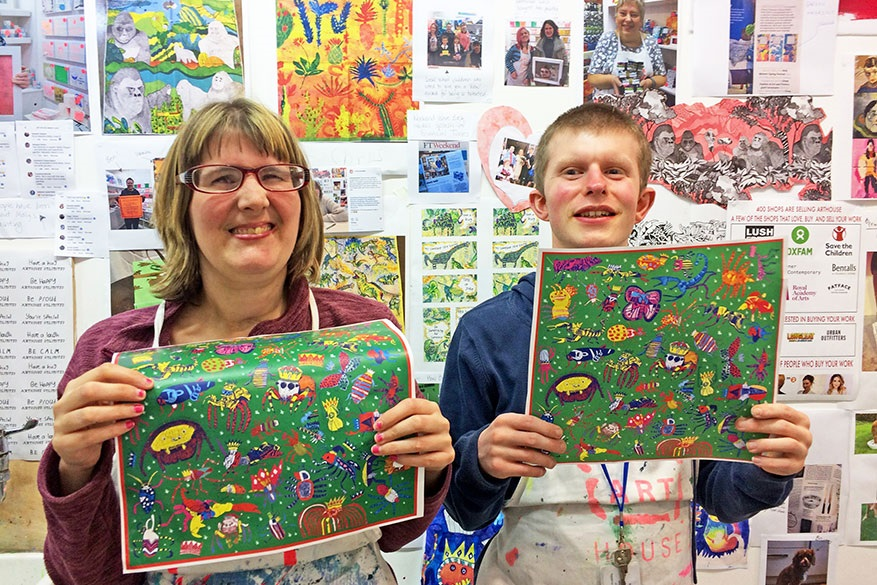 Louise and George from ARTHOUSE Unlimited