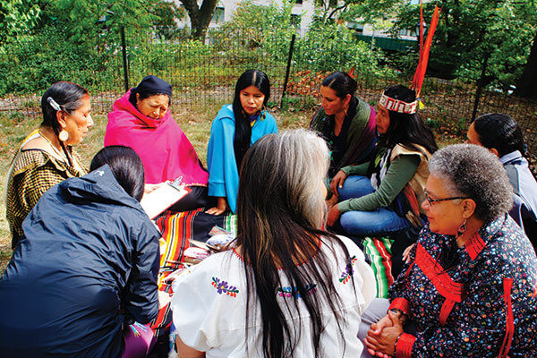Indigenous Women of the Americas Treaty signing