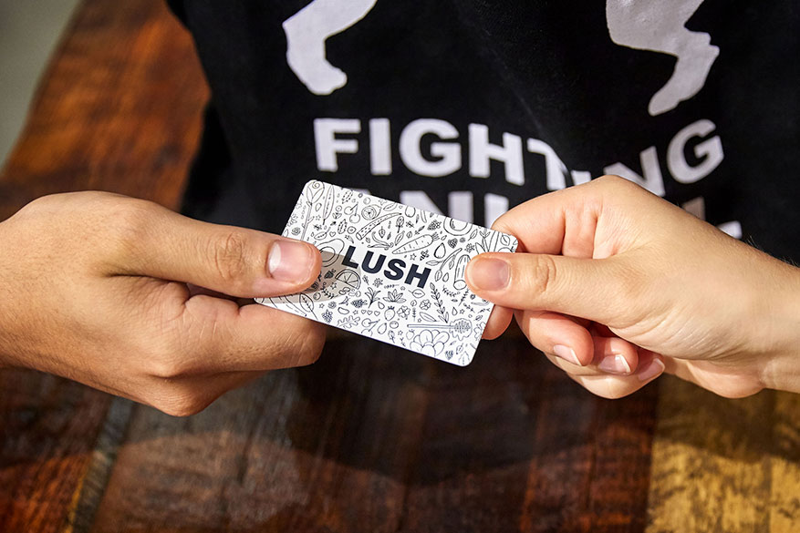 Give them the gift of an all expenses paid trip to Lush