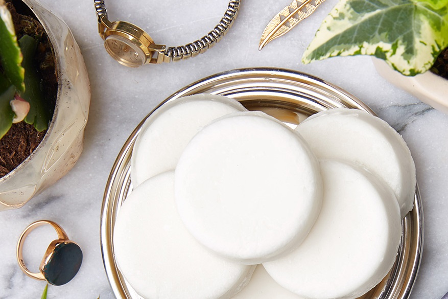 Tea Totaler Naked Cleansing Balm sits in a bowl