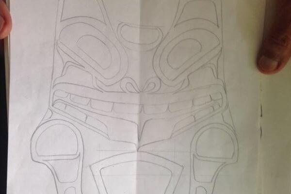 Great Bear pencil sketch