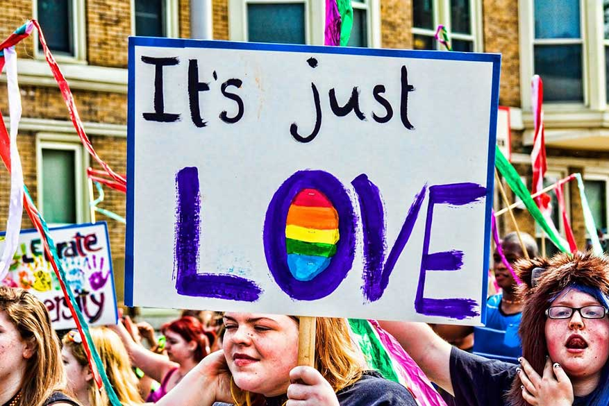 Pride celebrates all identities and loves.