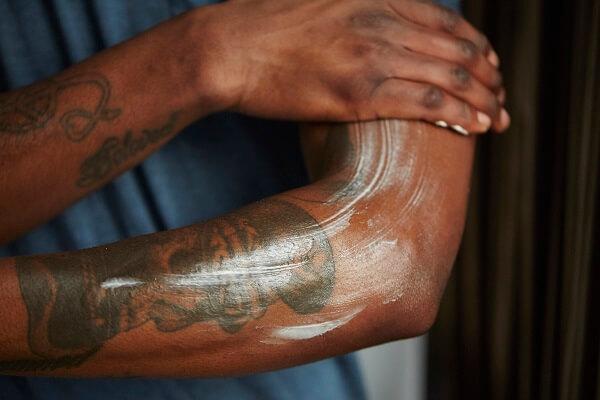 Keep skin hydrated to make those tats pop!