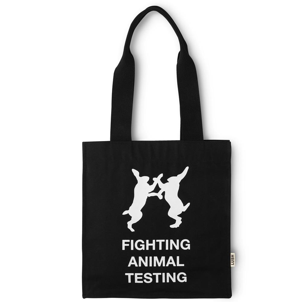 Fighting Animal Testing Tote Bag Gift animal rights Vegan Shopper